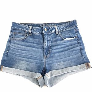 American Eagle Outfitters Hi Rise Shortie Shorts